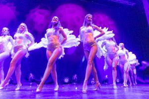 Burlesque danse show